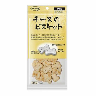 ママクック チーズのビスケット 65g 4580207273033