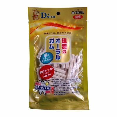 ダイワ 理想のオーラルガム 桜型スティックP ミルク 30本入 4521248006327