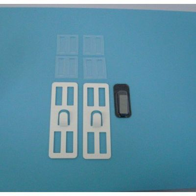 壁美人 石膏ボード用固定金具 P-4金具白2枚セット P-4Shw 4985218114601