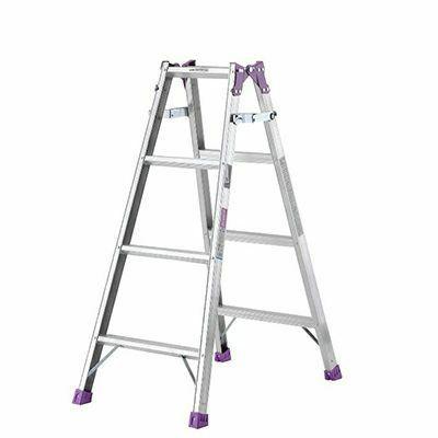 アルインコ アルミはしご兼用脚立 MR‐120W 【メーカー直送にてお届け】 4969182238815