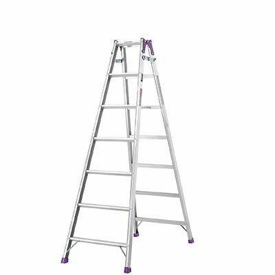 アルインコ アルミはしご兼用脚立 MR‐210W 【メーカー直送にてお届け】 4969182238846