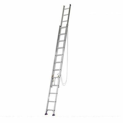 アルインコ 安心 2連伸縮梯子7m CX70DE 【メーカー直送にてお届け】 4969182219548